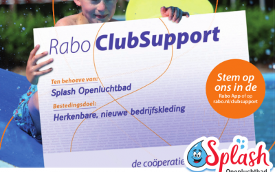 Rabo ClubSupport actie Splash!